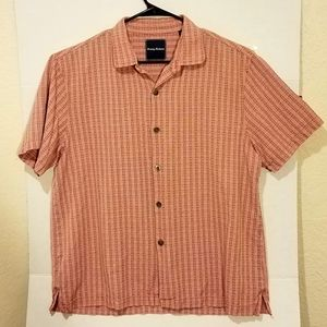 Tommy Bahama Silk Short Sleeved Casual Shirt